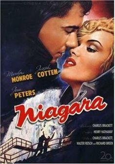 film, marilyn monroe, movi poster, niagara falls, jeans, favorit movi, niagara 1953, marilynmonro, classic movi