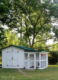 Need a shed, would LOVE to have a chicken coop