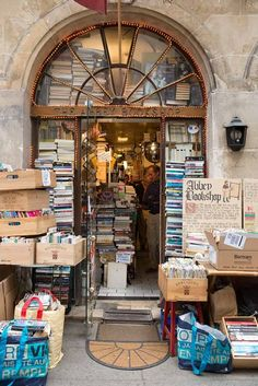 Book store in Paris