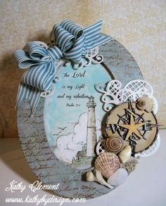 Balmy Breeze Altered Frame Tutorial - Kathy by Design
