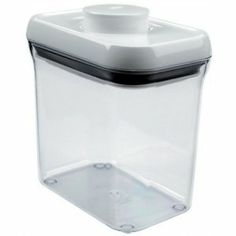 Oxo Good Grips POP Rectangle 1-1/2-Quart Storage Container - they're amazing! $12