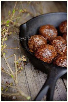 Cherry Coke & Jalapeño Meatballs
