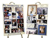 What a great way to pay a special tribute to someone you've lost than with these great memory board kits. They'll make a nice addition to a celebration of life. $59 and includes two boards. #idea for personalizing a funeral, #memorial idea, #life celebration idea