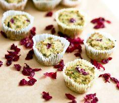 orange cranberry coconut muffins
