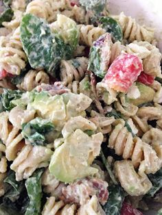 What's for supper?: BLT plus avacodo pasta salad