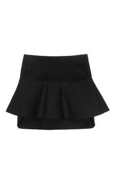 Shop Connie Skirt In Black by Isabel Marant for Preorder on Moda Operandi