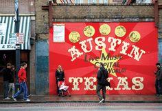 austintx, favorit place, 6th street, austin texas, live music, mural, travel, music capit, austin tx