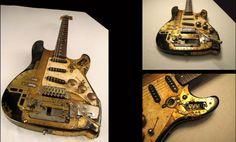 Accordiancaster guitar