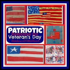Patriotic Art Projects for Veteran's Day Observance from RainbowsWithinReach