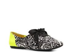 Not Rated Lulu Oxford Flat Flats Women's Shoes - DSW