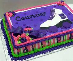 rollerskating cake - Bing Images