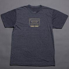 RIP Tape Tee Heather Navy now featured on Fab.