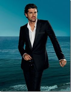 Patrick Dempsey for Versace