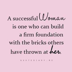 Successful women quote