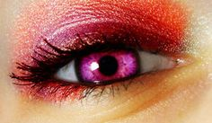 Pink Eye color | deviantART: More Like Beautiful Pink EYE IN color by =LT-Arts
