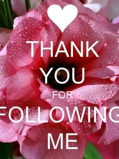 Thank you for following me. I hope you have enjoyed my pins, and will continue to share my love of beautiful places and beautiful things.