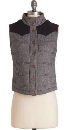 Fall Must-Haves: Quilted vest