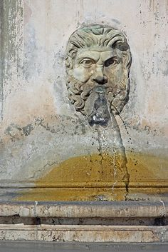 Water fountain, Rome.