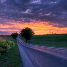 Inspiring country roads