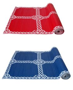 Spruce up your porch and patio floors. The LISEL flat woven rug is meant to withstand the sun or rain.