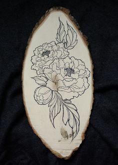 pivoine peony dessins et tatouages draws and tattoos. Black Bedroom Furniture Sets. Home Design Ideas