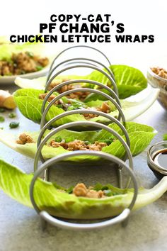 I don't think I've met a single person who didn't like the PF Changs Lettuce Wraps recipe. These homemade PF Changs Chicken Lettuce Wraps are the perfect way to start a meal or, because why not, to be the main meal. They are low-carb, protein-packed, and full of flavor. Bonus- they double as Copycat Pei Wei Lettuce Wraps, too!