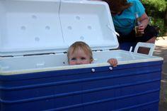 Redneck kiddie pool