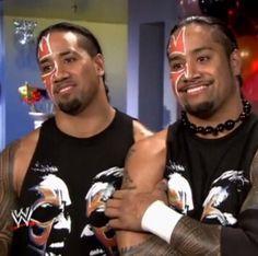 Twin WWE wrestlers Jonathan & Joshua Fatu