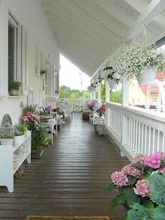 sweet tea, shabby chic cottage, dream porch, hous, natural wood, veranda, wrap around porches, new england homes, front porches