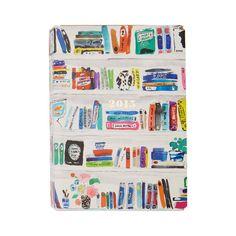 2014-2015 Kate Spade Small Planner Bookshelf by Kate Spade New York #KateSpadeNY #IndigoPaper