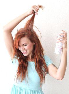 Natural Homemade Dry Shampoo