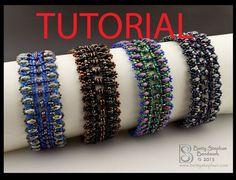 Beading Tutorial for Suzanna beadwoven by BettyStephanBeadwork, $9.00