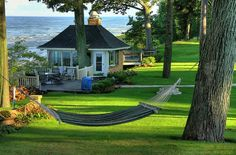 Divine lake houses, cottag, grand haven, lake michigan, dream homes, sea, hammock, dream houses, place