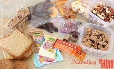 travel foods; paleo