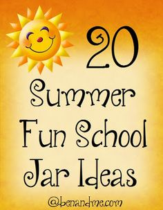 K is for Kicking Off Summer with a Fun School Jar (and a free Summer Nature Study printable, too!)