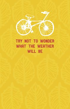 """The National """"Conversation 16"""" lyric print - Try Not to Wonder What the Weather Will Be"""