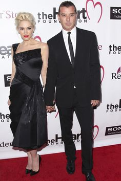 Gwen Stefani and Gavin Rossdale hold hands at The Heart Foundation Gala