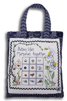 incomparablebuttons: ButtonMad: Beautiful Button Bag