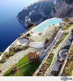 Monastero Santa Rosa Hotel & Spa, #Italy      www.booking.com/hotel/it/monastero-santa-rosa.en-gb.html?aid=305842&label=pin