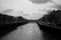 #Dublin, the Liffey River