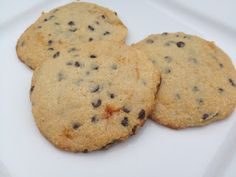 Primal Chocolate Chip Cookies -- gluten-free