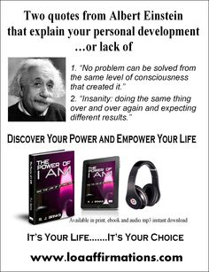 """Discover your power of """"I Am"""" Avaliable in print, ebook and audiobook formats. http://www.amazon.com/The-Power-AM-Law-Attraction/dp/099162310X Also available at iBooks, iTunes, Audible.com, Barnes & Noble, Learn Out Loud, loaaffirmations.com, Amazons worldwide.  It's Your Life & Your Choice... so choose wisely my friend...Discover YOUR power and Empower Your life.  - R.J. Banks"""