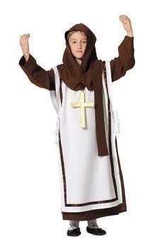 Disfraz de monje #medieval para niños
