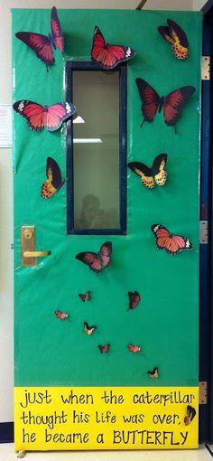 Butterfly Classroom Decoration : Classroom door decor by emileekokos on pinterest