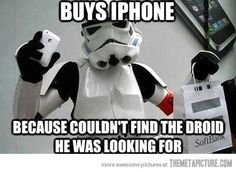 Disappointed Stormtrooper…
