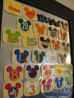 My Little Gems: Disneyland Activity Countdown Calendar + { free download}