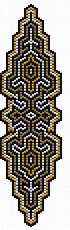SCHEMAT/BEADING Peyote Pattern.