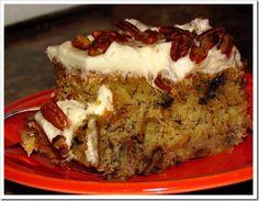 Banana Nut Cake.