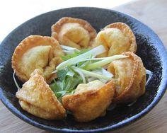 Fried Sweet Potato Turkey Dumplings
