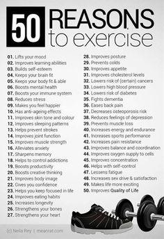 fitness workouts, workout motivation, planet fit, 50 reason